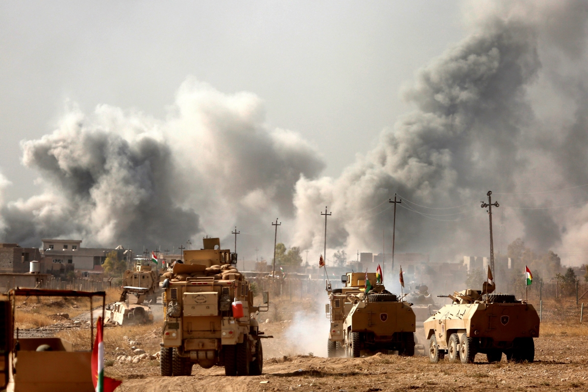 War Correspondents Describe Recent U S Airstrikes In Iraq